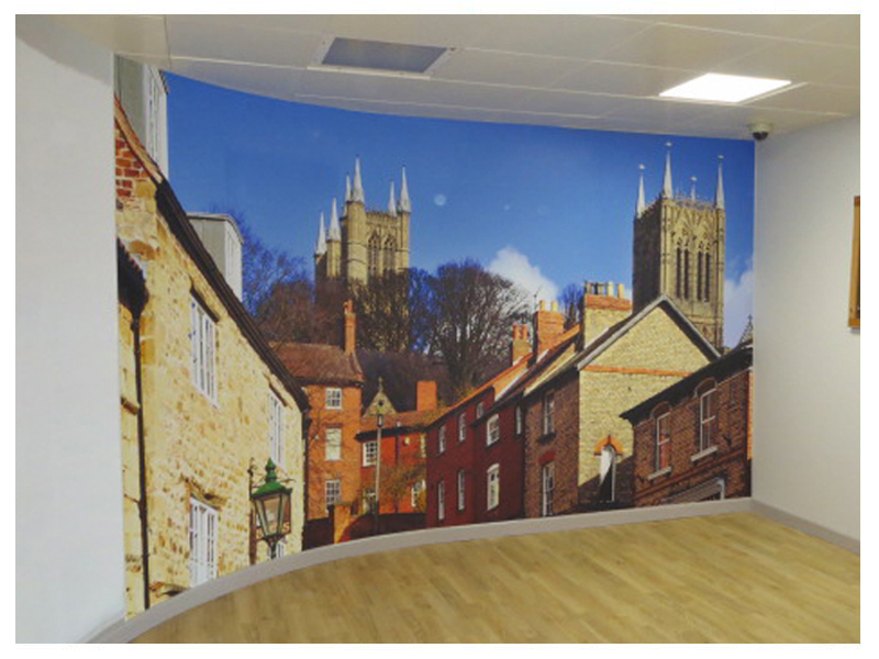 Hospital Wall Mural