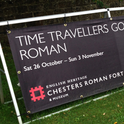 English Heritage Outdoor Banner in Frame