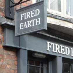 Fired Earth Hanging Sign