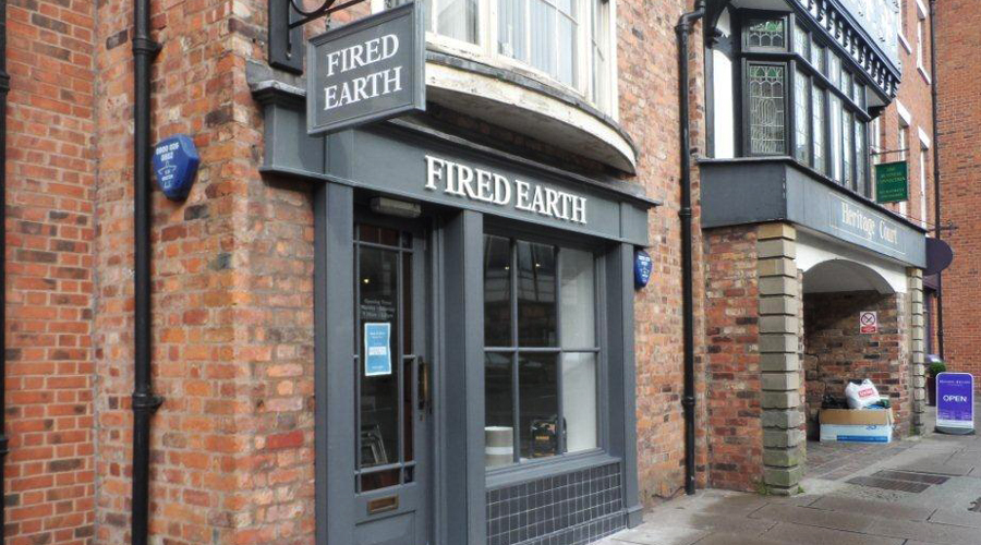 Fired Earth Shop Exterior