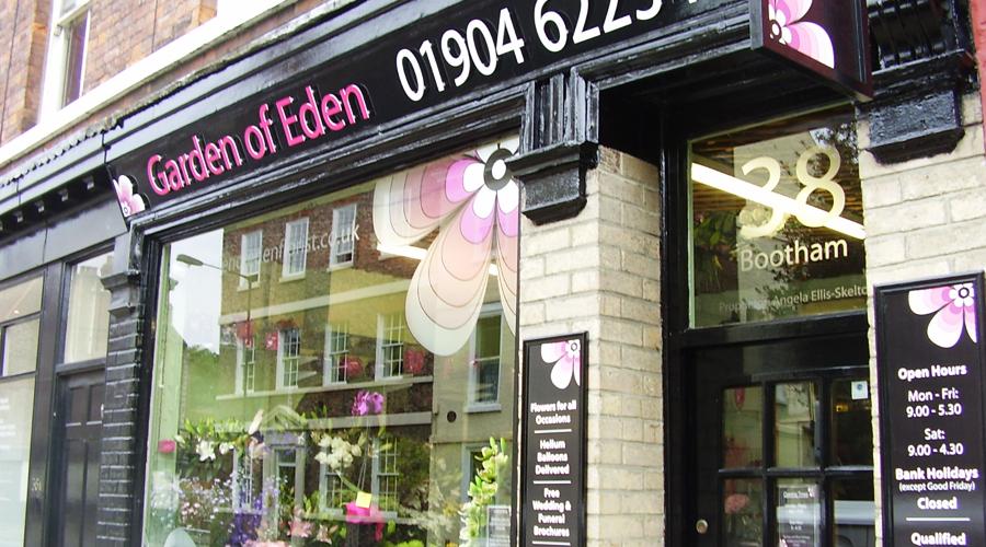 Florist Shop Signage