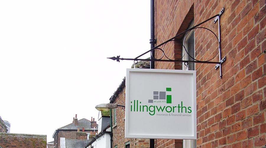 York Hanging Sign