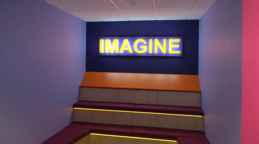 Imagine 3D Lit Lettering