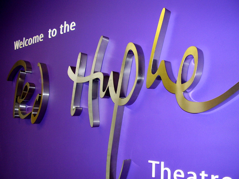 3D Stainless steel lettering Sign