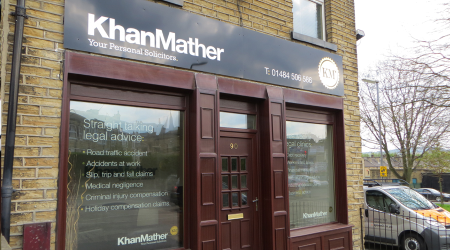 KM Solicitors Office Signage