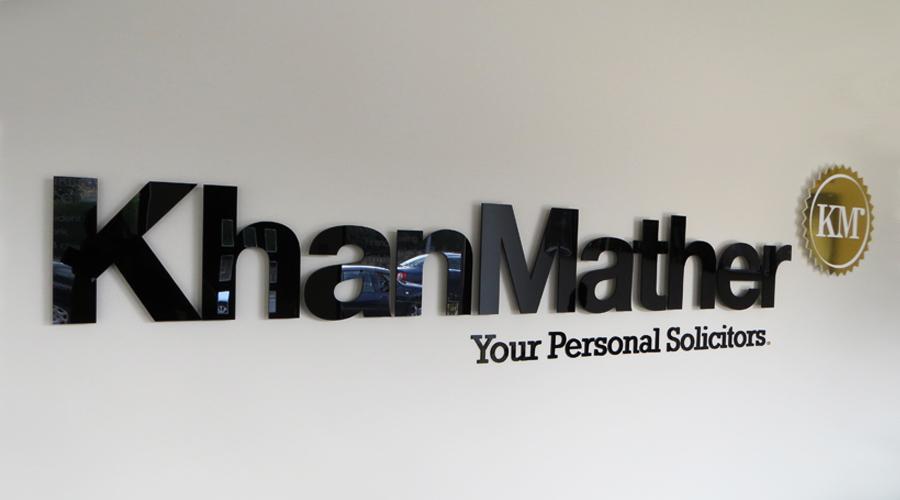 Kham Mather Interior Signage
