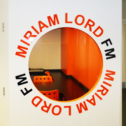 Miriam Lord Acrylic Letters