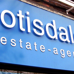 Otisdale Acrylic Lettering Sign