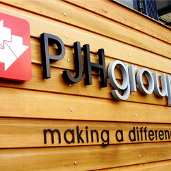PJH 3D Lettering Sign
