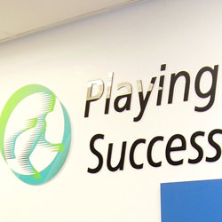 Playing for Success Acrylic Letters