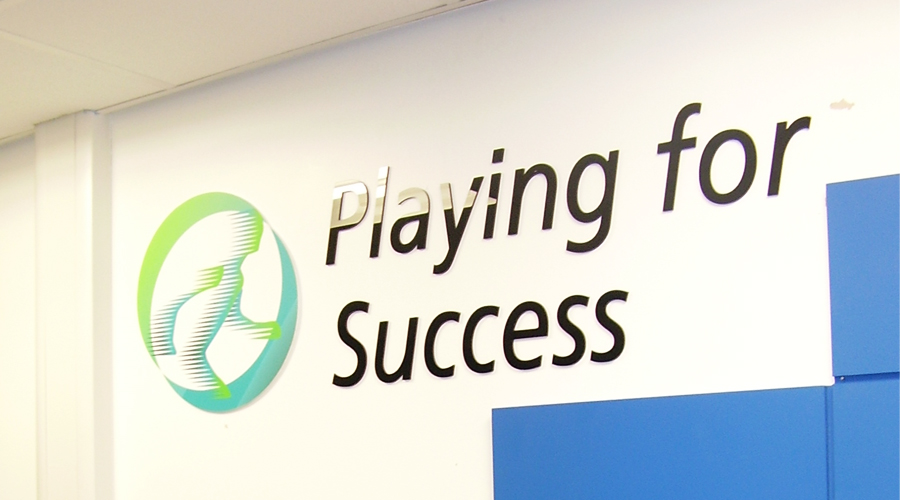 Playing For Success Interior Wall Signage