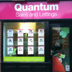 Quantum Estate Agents Signage