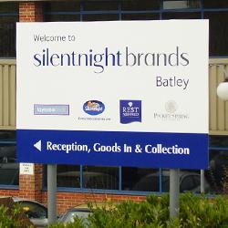 SilentNight Post Sign Batley
