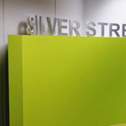 Silver Street 3D Lettering