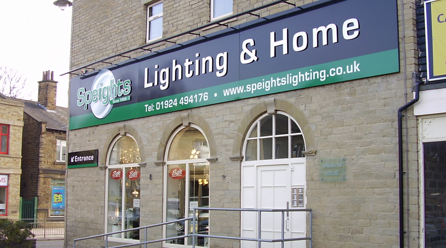 Speights Shop Signage