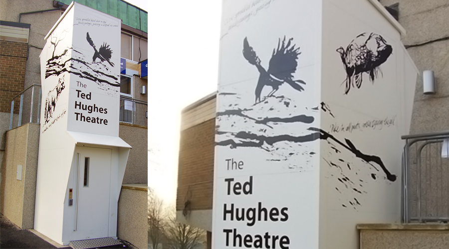 Ted Hughes Theatre Box Graphics