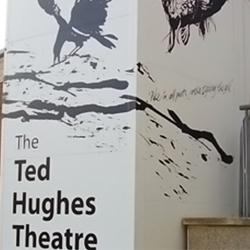 Ted Hughes Vinyl Signage