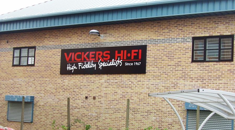 Vickers Exterior HQ Signage