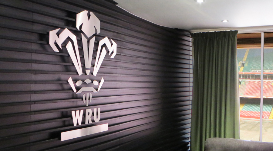Welsh Rugby Union Stainless Steel Interior Logo2