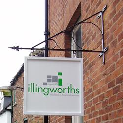York Street Hanging Sign