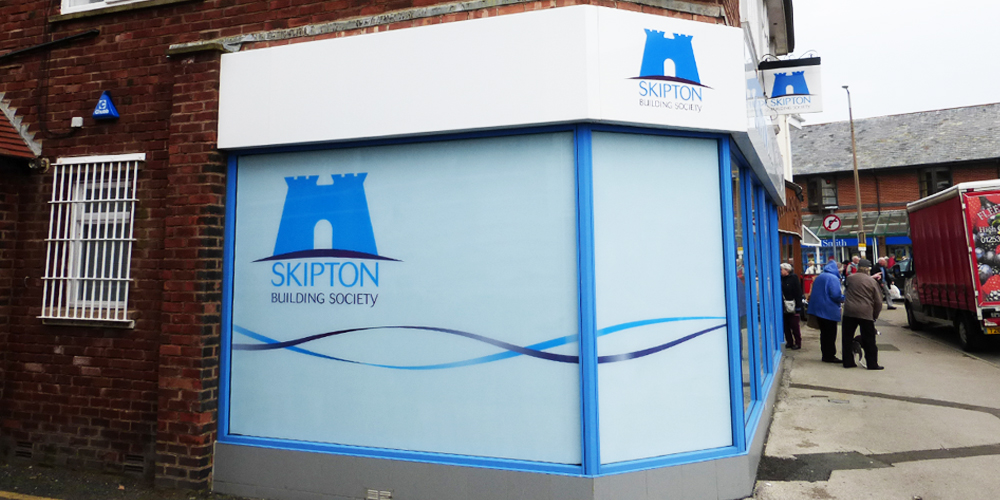 Bank External Window Graphics
