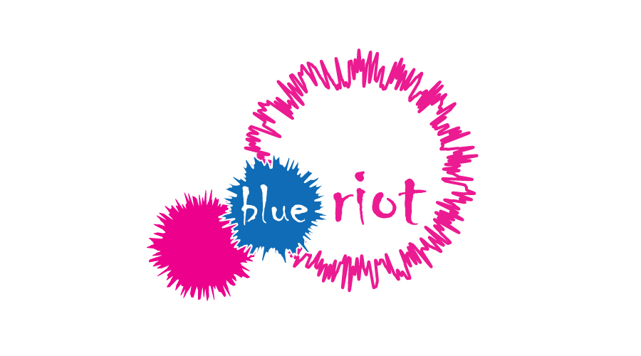 Blue Riot Logo Design