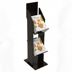 Black Acrylic Brochure Holder