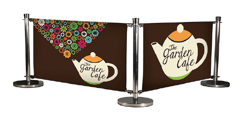 Cafe windbreak system