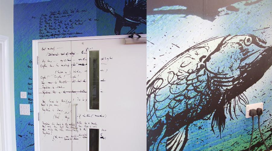 Calder Reception Wallpaper