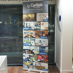 Exhibition Roll Up Banner