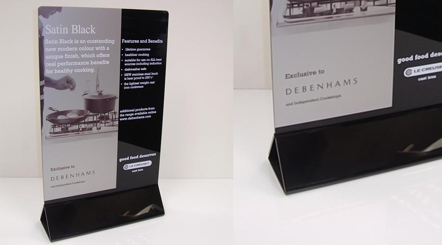 Debenhams-POS-Miniture-Stand