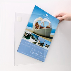 Acrylic Poster Display Pocket