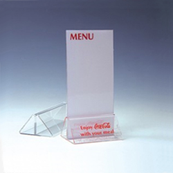 Acrylic Menu Display Holder