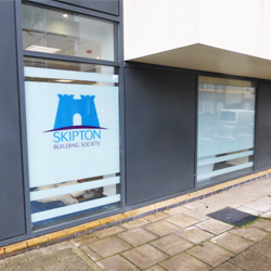 External Shop window graphics