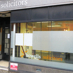 External Solicitors Window Graphics