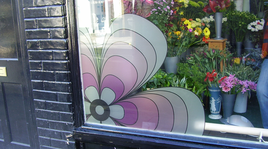 Window Flower Decoration