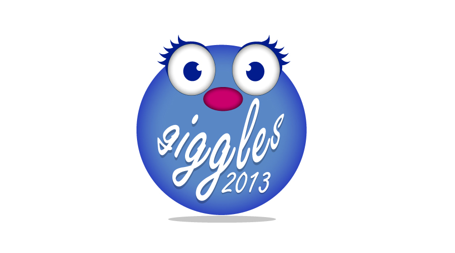 Giggles Girl Guiding Logo Design