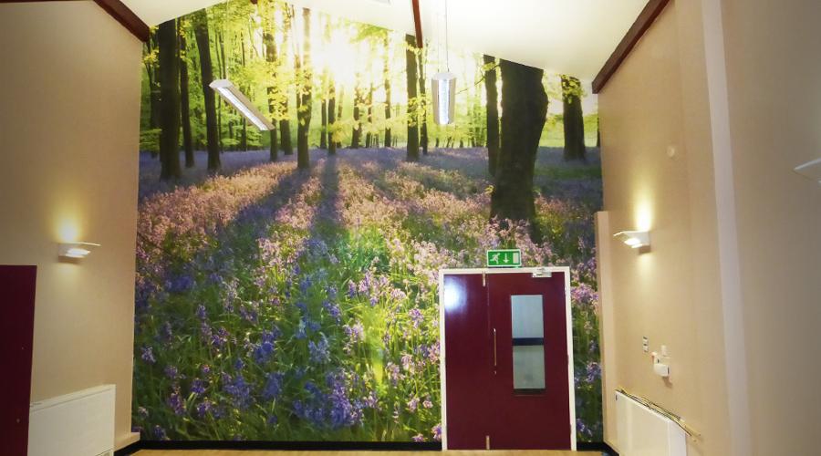 Grantham Wall Art Mural