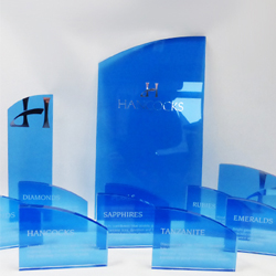 Acrylic Window display plaques