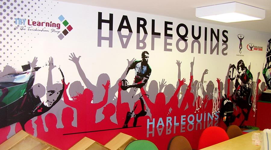Harlequins Wall Mural