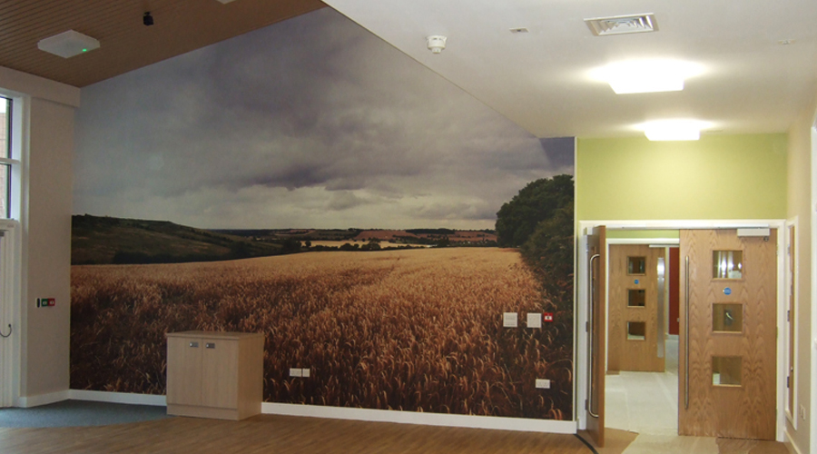 wall murals space3 signage graphics display yorkshire