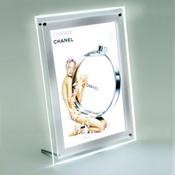 LED illuminated Poster Display