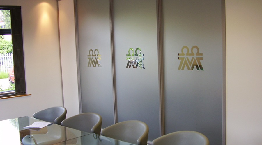 Glass Manifestation logos