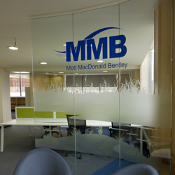 River Bed Graphics Glass Manifestation