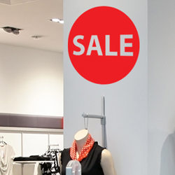 Sale Wall Sticker