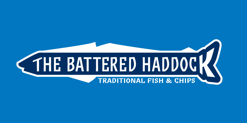 The Battered Haddock Logo Design