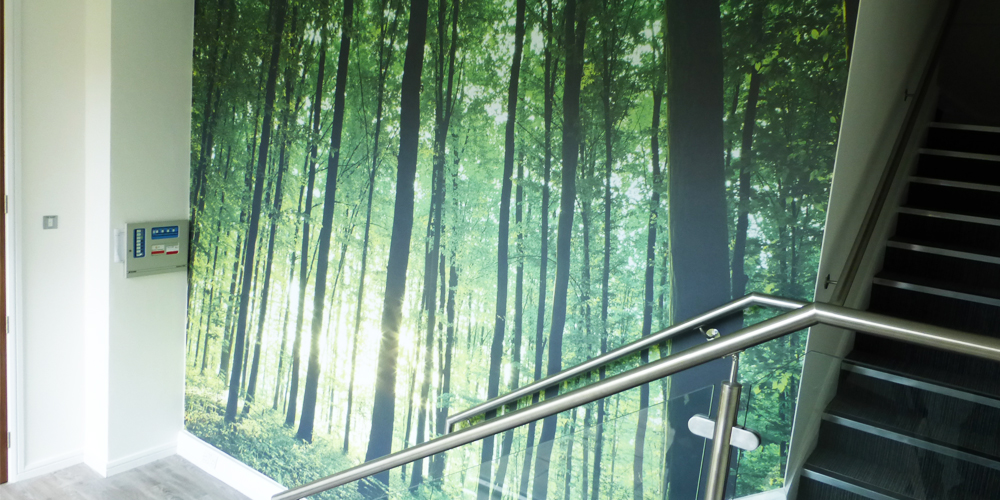 Tree Picture Wall Mural