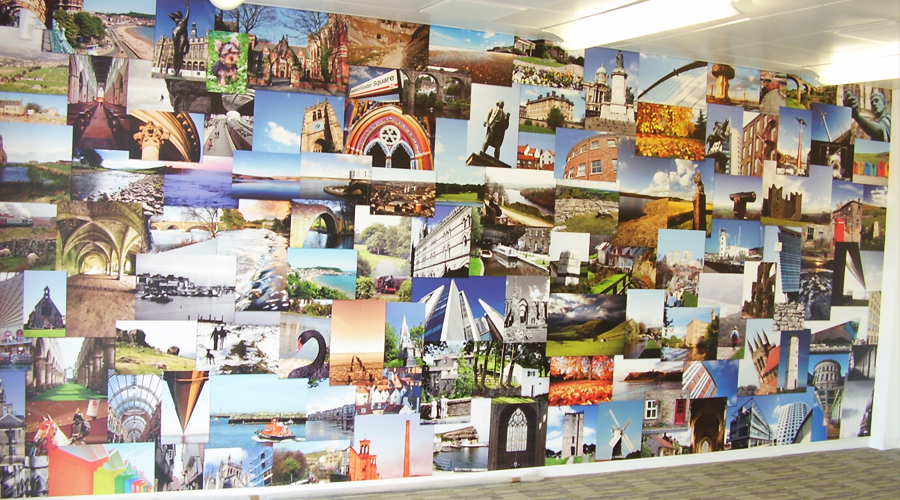 Yorkshire Montage Wall Mural