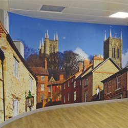 City Centre Wall Mural
