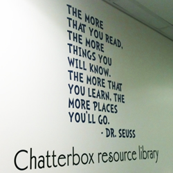 Dr Seuss School Wall Quote